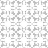 Bezszwowy Geometryczny wzór płytki wektor Zdjęcia Stock