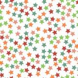 Bezszwowy gwiazda wzoru wektor Obraz Royalty Free