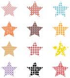 Bezszwowy gwiazdowy abstrakt Obrazy Stock