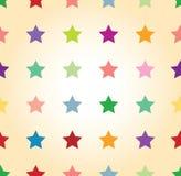 Bezszwowy gwiazdowy tło Fotografia Stock