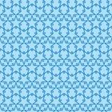 Bezszwowy Gwiazdowy wzór Dwa ilustracja wektor