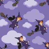 bezszwowy halloween wzoru Zdjęcie Stock