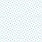 Bezszwowy Isometric siatka wzór Fotografia Stock