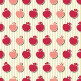Bezszwowy jabłko wzór Obrazy Stock