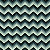 Bezszwowy jaskrawy abstrakta wzór Geometryczny zygzakowaty druk komponujący zygzakowate linie zielenieje, szarość kolory royalty ilustracja