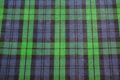 Bezszwowy Jaskrawy - zielona szkocka krata Obrazy Stock
