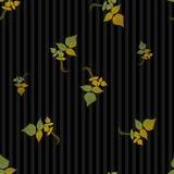 Bezszwowy Jesień Liść Tło Zdjęcia Stock