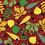 bezszwowy jesień tło ilustracji