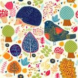 Bezszwowy jesień wzór Zdjęcie Royalty Free