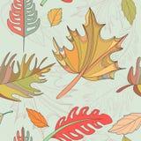 Bezszwowy jesień wzór Zdjęcia Stock
