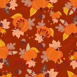 bezszwowy jesieni wzoru Obraz Royalty Free