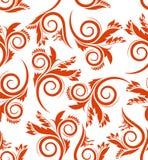 bezszwowy jesienny tło Obrazy Royalty Free