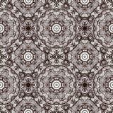 Bezszwowy kółkowy ornament, koronkowy faborku wzór. Obrazy Royalty Free