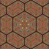 Bezszwowy khayameya wzoru projekt 044 Zdjęcia Royalty Free