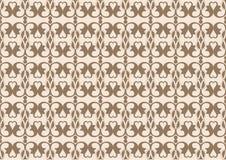bezszwowy klasyczny tło ornament Obrazy Stock