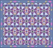 Bezszwowy kolorowy aztec geometryczny wzór Obraz Stock