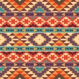 Bezszwowy kolorowy aztec wzór Obrazy Stock