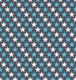 Bezszwowy Kolorowy Gwiazdowego wzoru tło ilustracja wektor