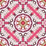 Bezszwowy kolorowy kwiecisty wzór Fotografia Stock
