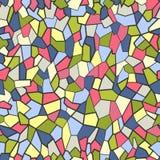 Bezszwowy kolorowy wzór Obraz Stock