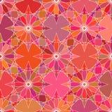 Bezszwowy koloru absruct kwiatów wzór Zdjęcia Stock