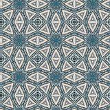 Bezszwowy koloru wzór od różnorodność geometrycznych kształtów ilustracji