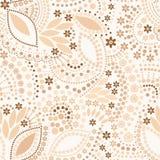 Bezszwowy koralik biżuterii wzór ilustracja wektor