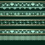 Bezszwowy koronkowy koronkowy faborku wzoru washi nagrywa tło teksturę Zdjęcie Stock