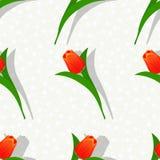Bezszwowy kwiat pattern-01 ilustracja wektor