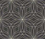 bezszwowy kwiatu abstrakcjonistyczny wzór Zdjęcia Stock
