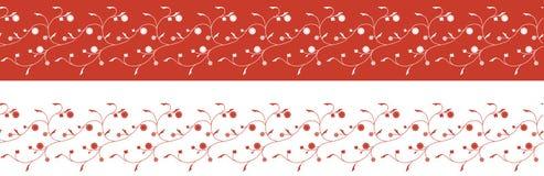 bezszwowy kwiatu rabatowy wzór Obraz Stock