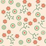 bezszwowy kwiatu wzór Zdjęcie Royalty Free