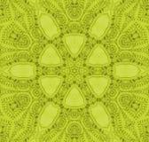 Bezszwowy kwiecistego ornamentu jasnozielony centrowany Zdjęcie Royalty Free
