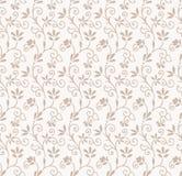 Bezszwowy kwiecisty ślubnej karty tło Obrazy Royalty Free