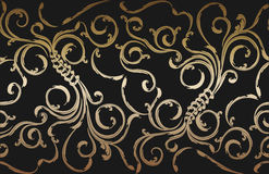 bezszwowy kwiecisty ornament Fotografia Royalty Free