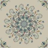 bezszwowy kwiecisty tła Abstrakcjonistyczny ornamentu wzór Fotografia Stock