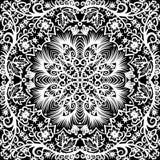 Bezszwowy kwiecisty wzór Fotografia Royalty Free