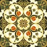 Bezszwowy kwiecisty wzór Zdjęcia Royalty Free