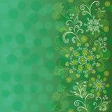 Bezszwowy kwiecisty wzór Zdjęcie Stock