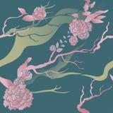 Bezszwowy kwiecisty wzór Obraz Royalty Free