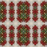 Bezszwowy kwiecisty wzór, obraz olejny Fotografia Royalty Free