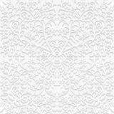 Bezszwowy kwiecisty wzór w tradycyjnym stylu Obrazy Royalty Free