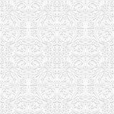 Bezszwowy kwiecisty wzór w tradycyjnym stylu ilustracji