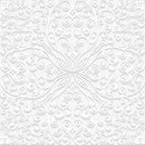 Bezszwowy kwiecisty wzór w tradycyjnym stylu Zdjęcie Stock