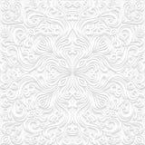 Bezszwowy kwiecisty wzór w tradycyjnym stylu Fotografia Royalty Free