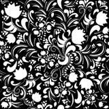 Bezszwowy kwiecisty wzór. Wektorowa ilustracja. Obrazy Royalty Free