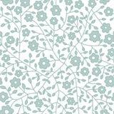 bezszwowy kwiecisty wzoru Kwitnie teksturę daisy Obrazy Royalty Free
