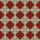 Bezszwowy Kyrgyz krajowy ornamentu wzór Obraz Stock