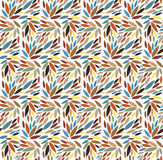 bezszwowy liści wzoru również zwrócić corel ilustracji wektora Obraz Stock
