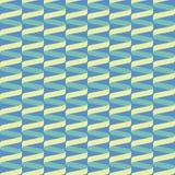 Bezszwowy ślimakowaty tasiemkowy falowy wzór royalty ilustracja